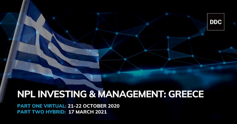 HipoGes Evento NPL DDC Financial Mercado Grécia