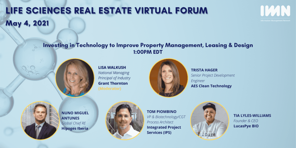 painel orador evento Life Sciences Real Estate Virtual Forum hioges nuno antunes gcreo real estate imobiliario