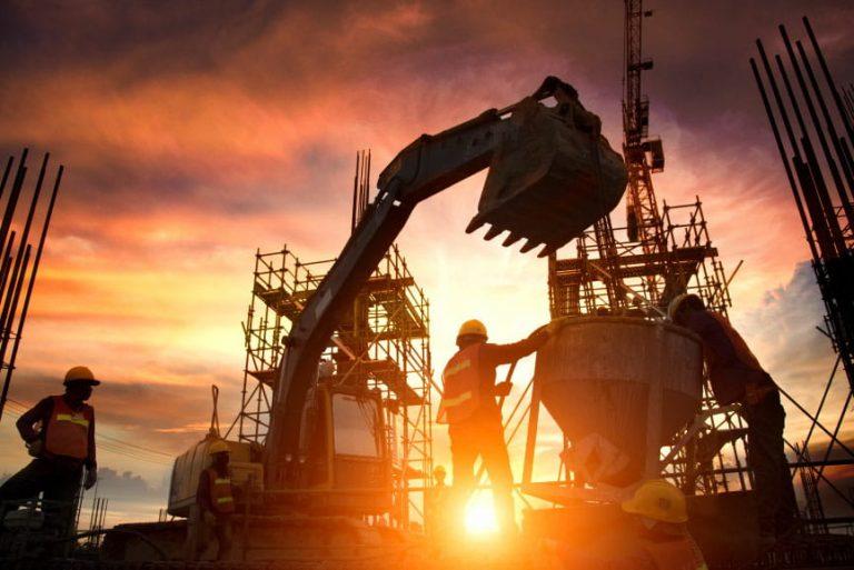 não-residencial construção aumento segmento valor bruto