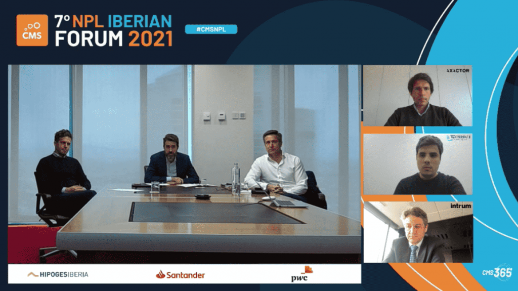 HipoGes present event CMS group NPL Iberian Forum