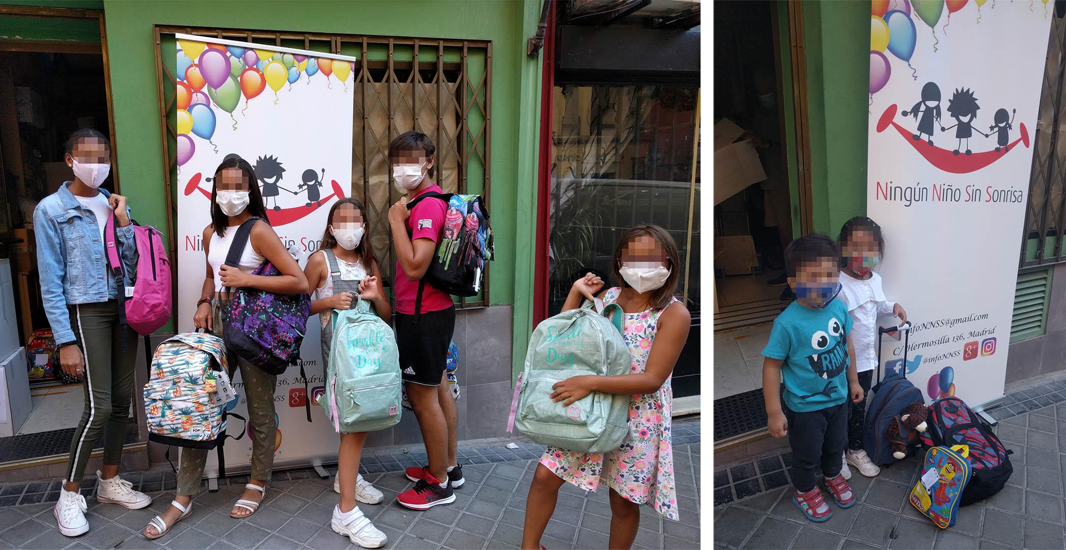 material escolar espana iniciativa operacion mochila hipoges