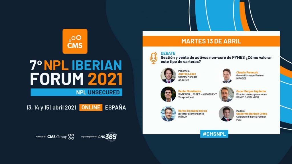 NPL Iberian Forum 7th event CMS group